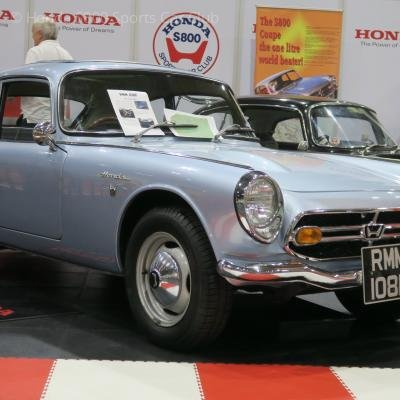 Our youngest members car on display at the NEC Classic Car Show